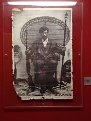Huey P. Newton framed poster