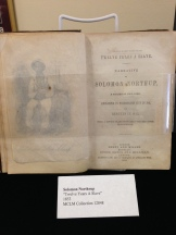 First edition copy of Solomon Northup's memoir (slave narrative), Twelve Years a Slave (1853)