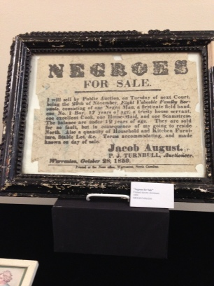 MCLM Collection | Authentic Slave Bills of Sale