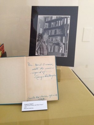 Signed copy of The Dream Keeper and Other Poems (1932) by Langston Hughes