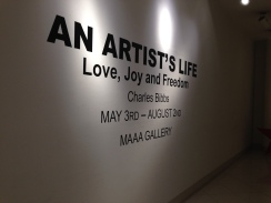 """Currently on view Charles Bibbs """"An Artist's Life: Love, Joy and Freedom"""""""