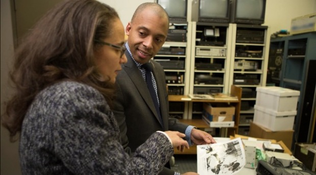Screen shot from Citi Progress Makers Gina Nisbeth with Dr. Khalil Gibran Muhammad