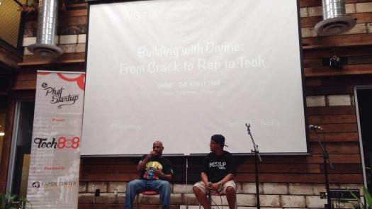 Divine - The 4th Letter (Rapper, Entrepreneur, Motivational Speaker)