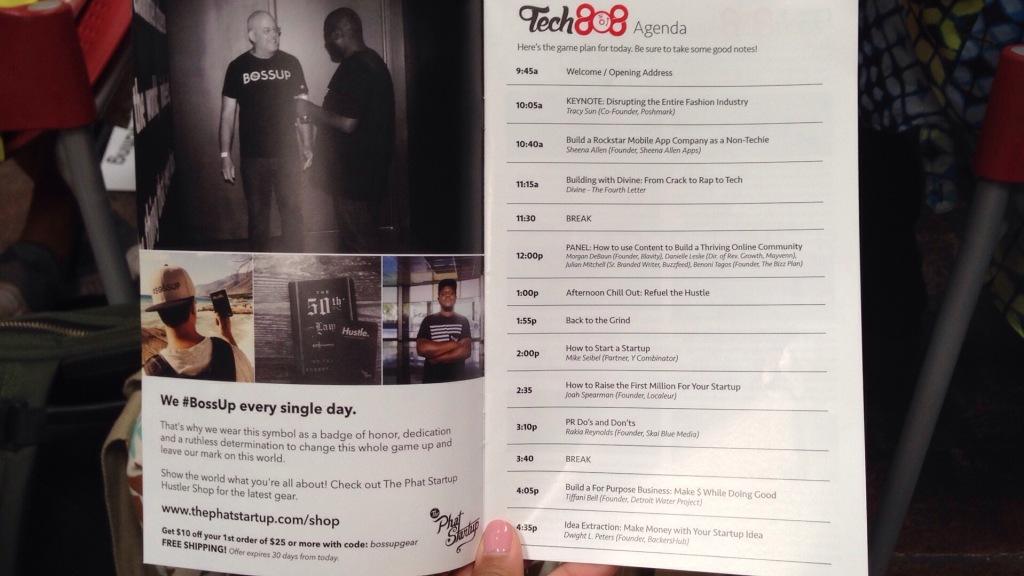 Tech808 Oakland Conference Program