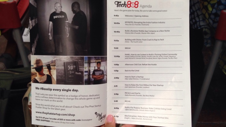Tech808 Oakland Conference Program