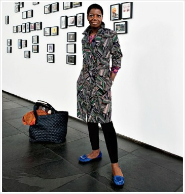 Thelma Golden, Chief Curator and Director of The Studio Museum in Harlem. Photo Source: urbanbushbabes.com