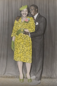 African American couple ca. 1950 (Photo courtesy of George Eastman Museum / Google Cultural Institute)